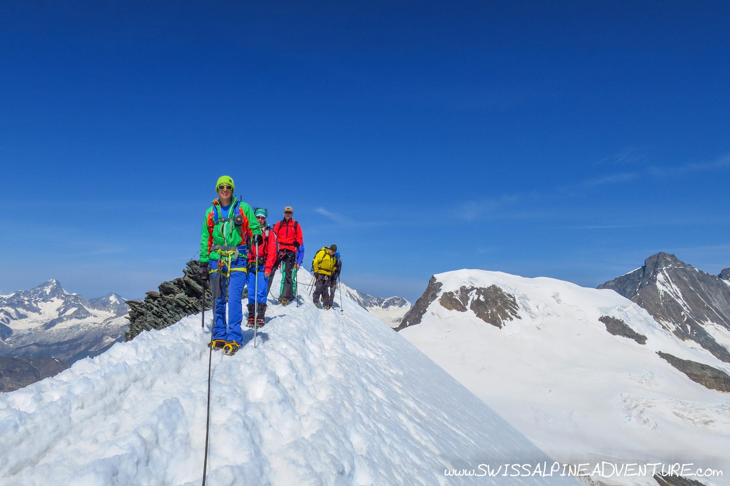 Mountaineering - 1st 4000er