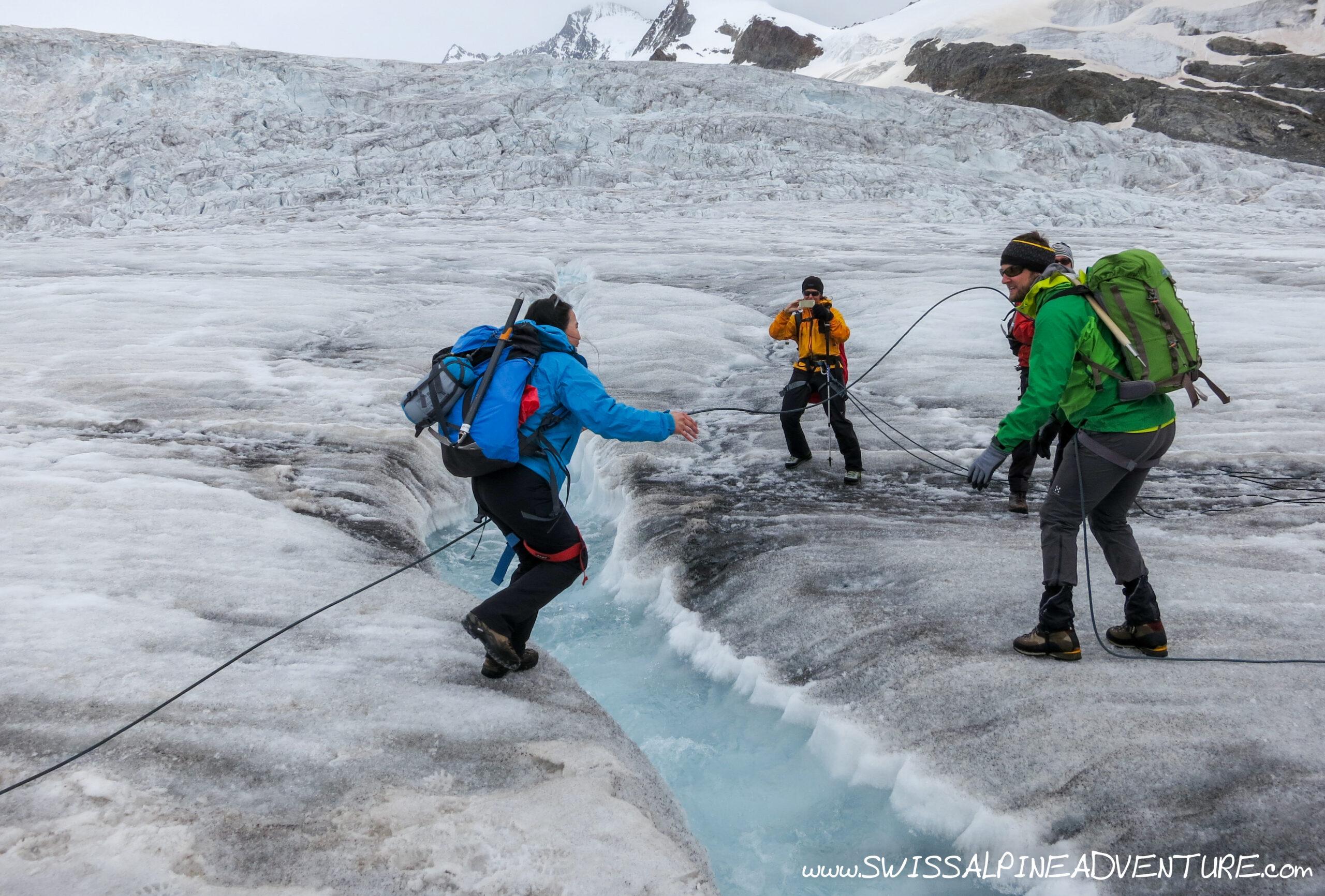 Glacier Trekking - Aletsch Glacier