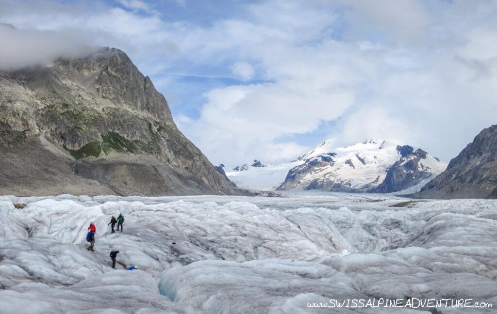 Glacier Trekking Aletsch Glacier