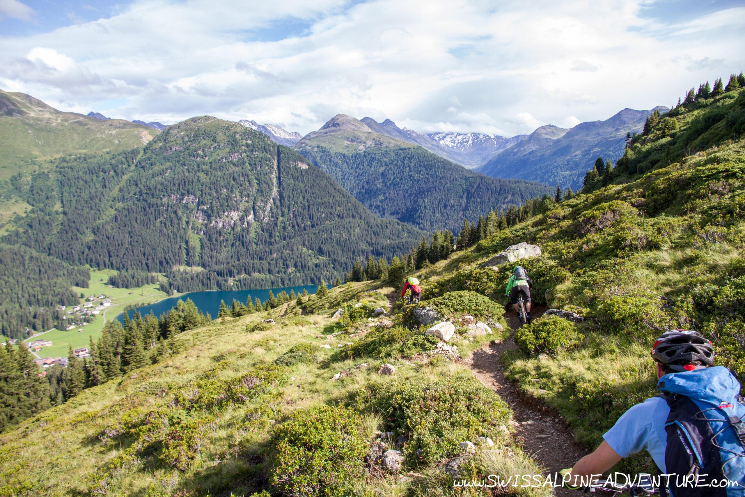 MTB Trail Fun Day in Davos